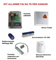 KIT ALLARME PER GARAGE BOX AUTO