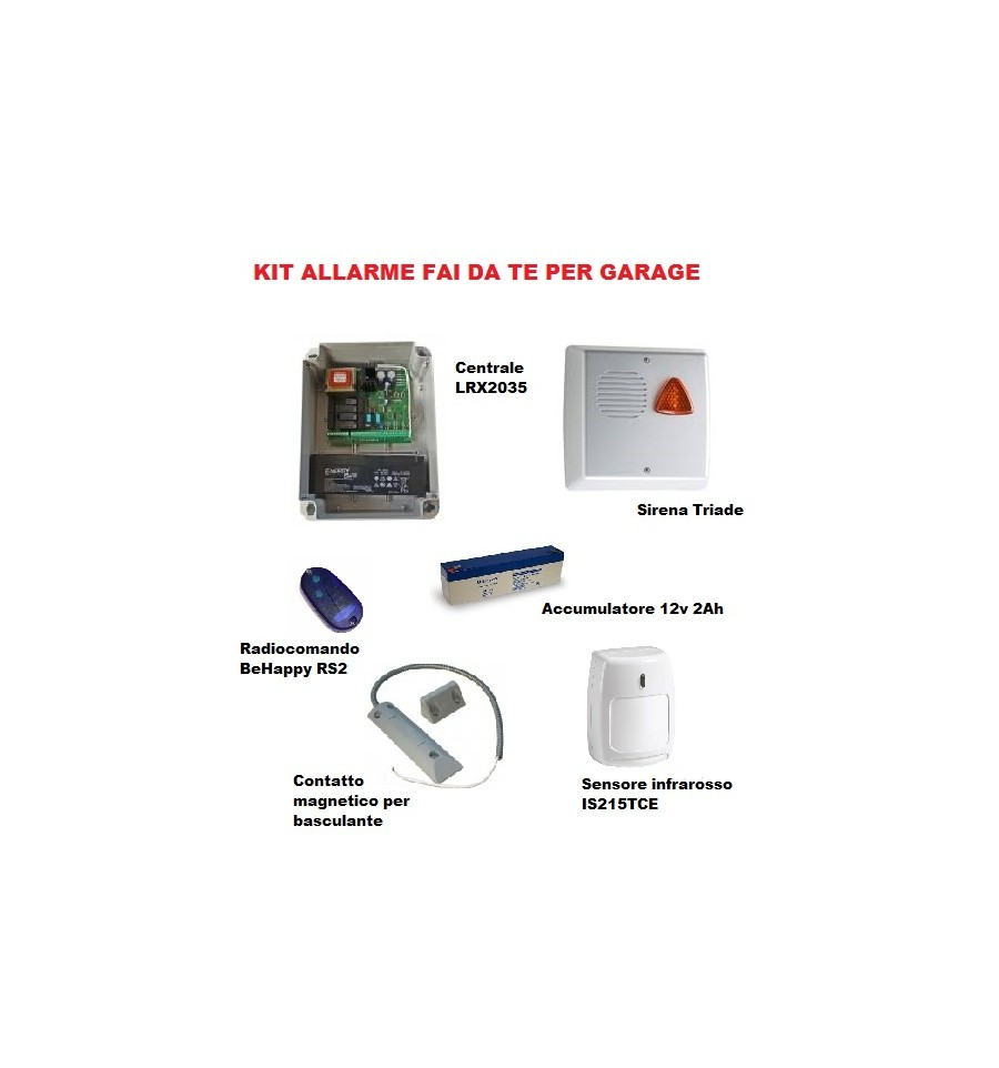 Kit Allarme Per Garage Box Auto Sk Elektronica